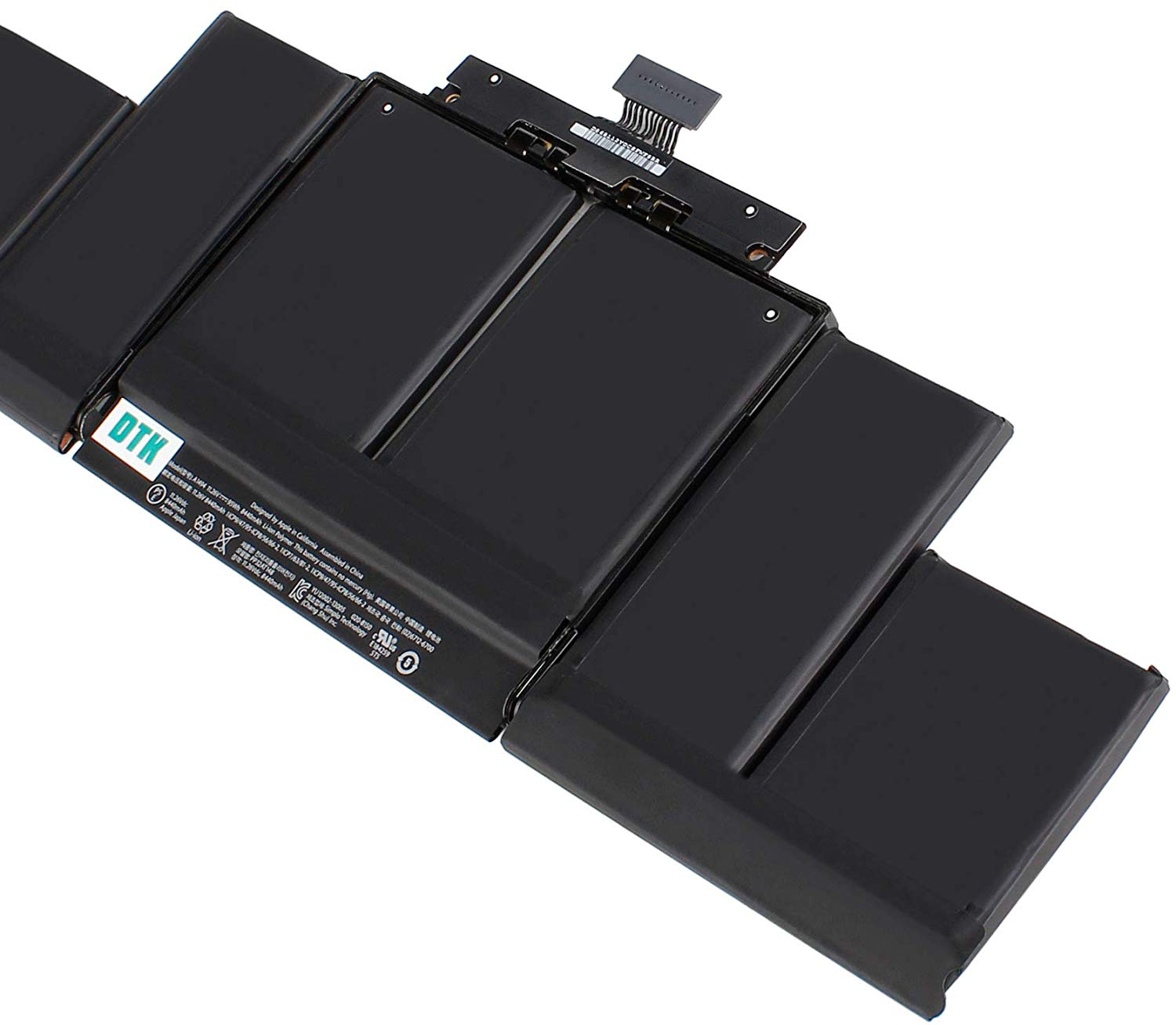 DTK A1494 Laptop Battery for Macbook Pro 15 inch A1398 (Only fit Late 2013 & Mid 2014) ME293 ME294